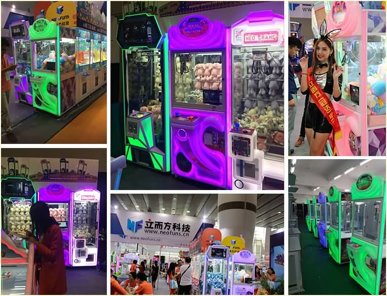 claw crane machine for sale