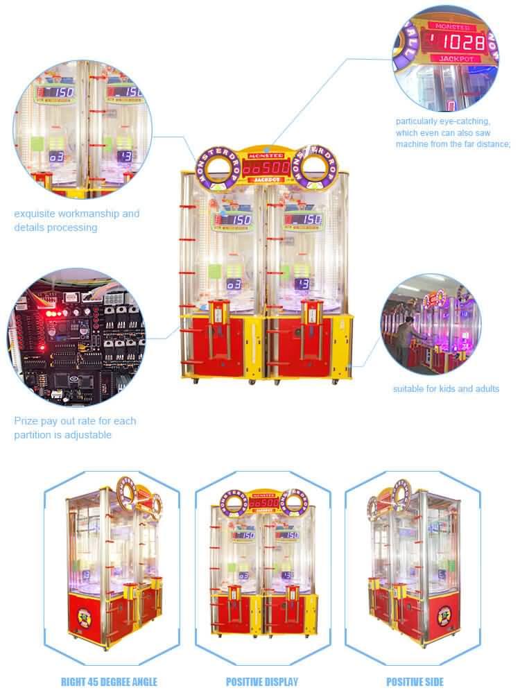 Monstor Drop game machine