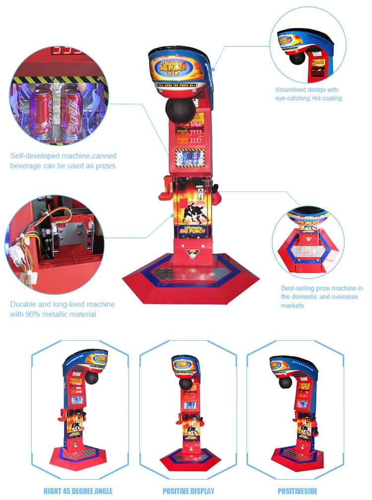 big punch game machine