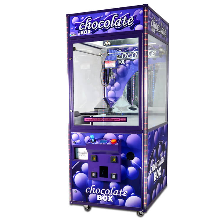 Chocolate Box Candy Crane Machine| Candy Claw Crane Machine