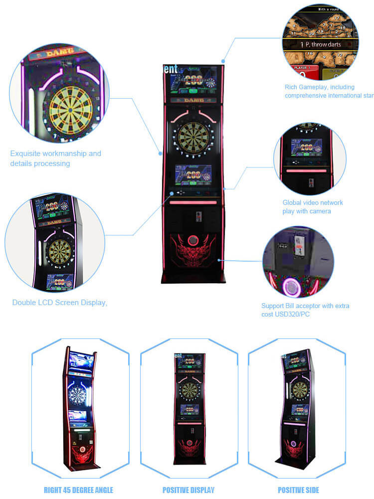 bar electronic dart machine