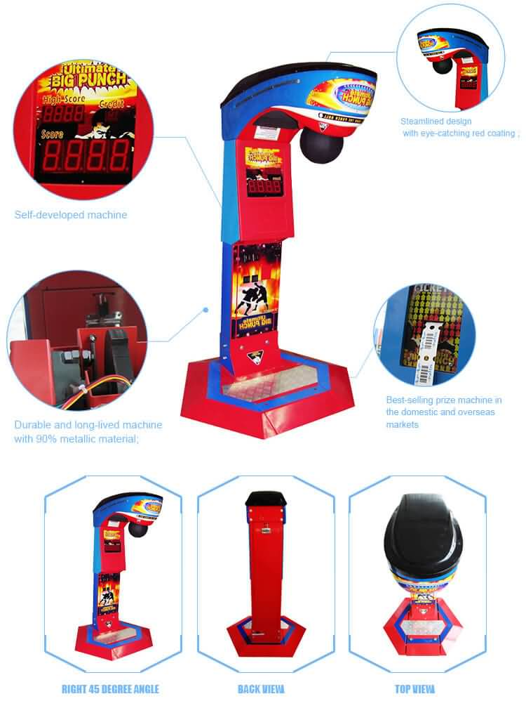 boxing arcade machine