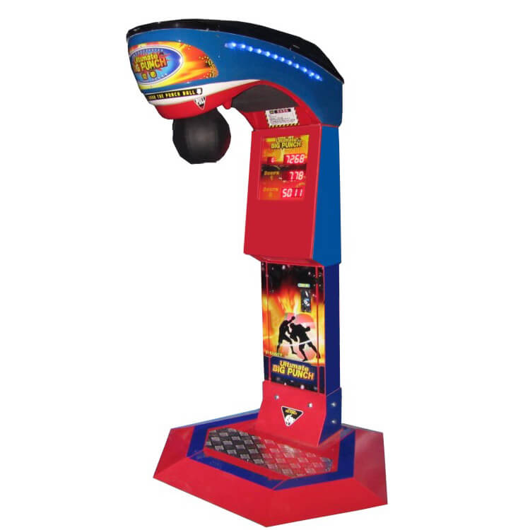 Ultimate Big Punch Redemption Machine NF-R01 Boxing Game Machine