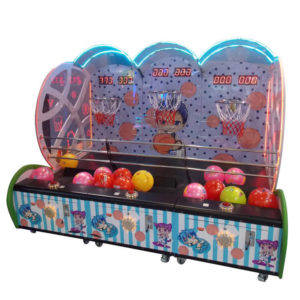 kid basketball machine