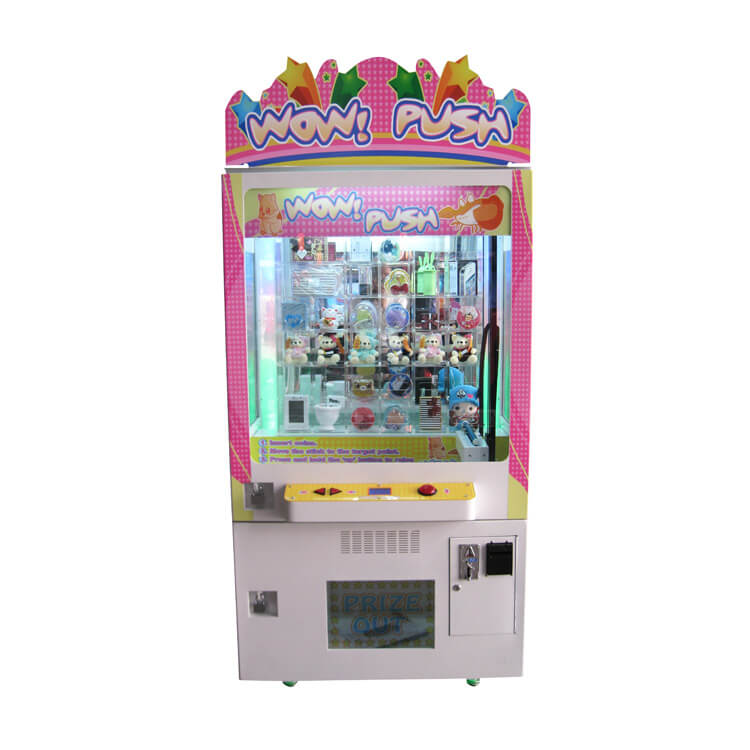 High Quality Push Win Vending Game Machine