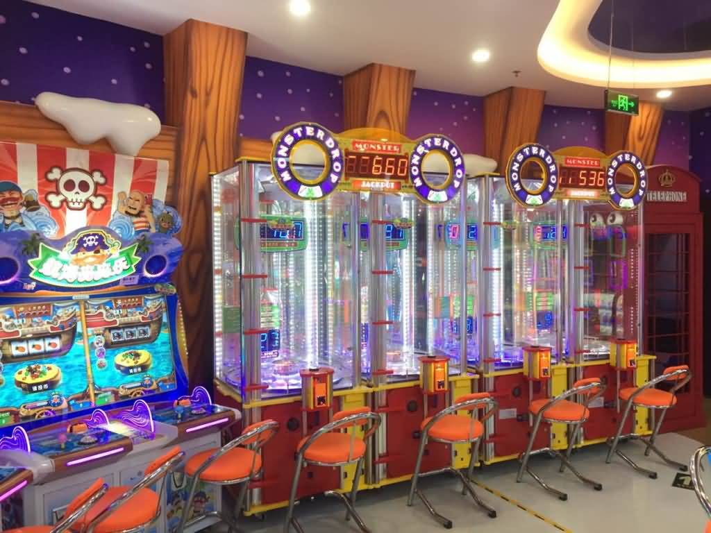 China factory arcade redemption machine