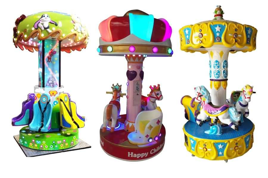 amusement park kids game