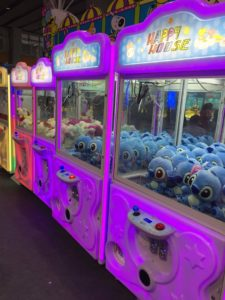 big claw crane machine