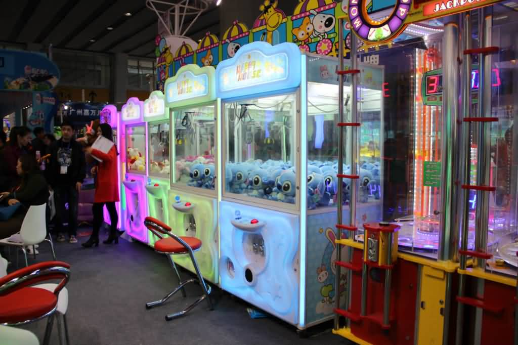 double crane claw machine for sale