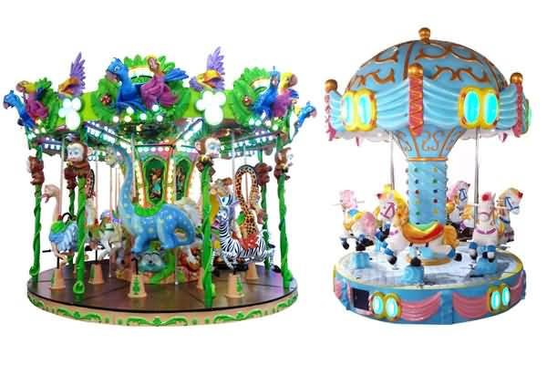 small carousel rides for kids
