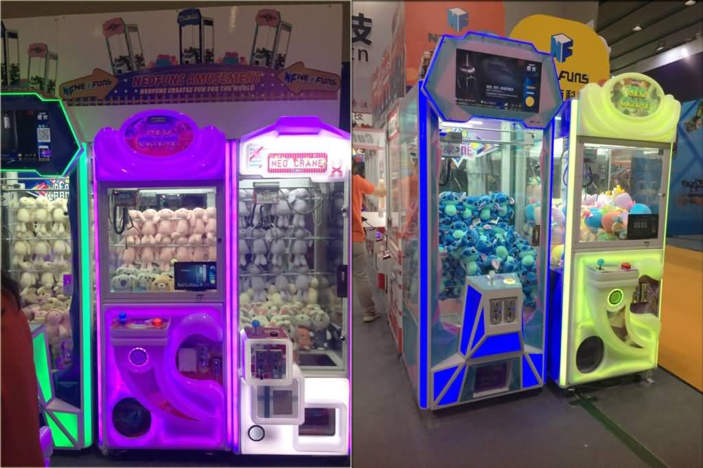 Claw Arcade Game Machines For sale