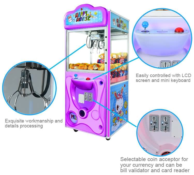31 inch claw crane machine
