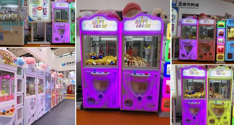 claw crane machine manufacturer
