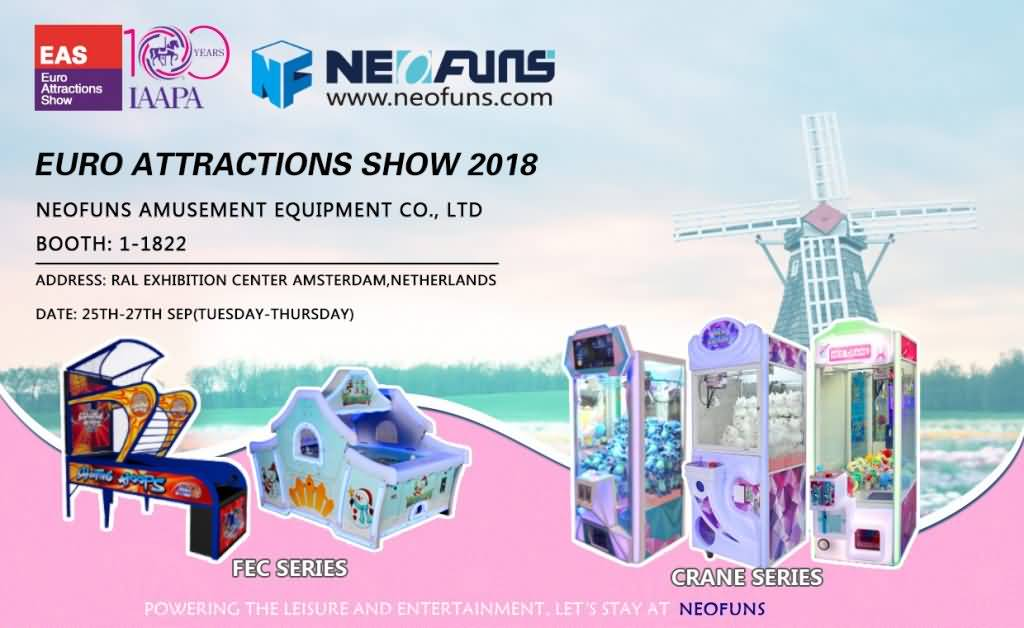 Euro Attractions Show 2018 on 25th-27th Sep