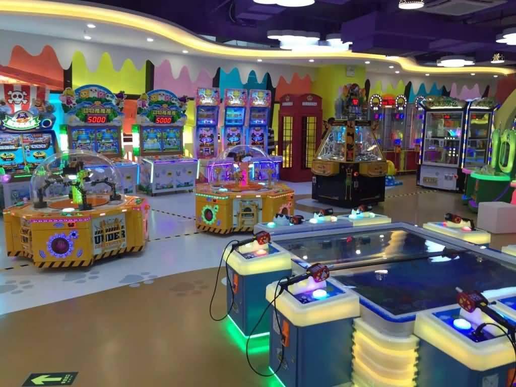 indoor amusement machines