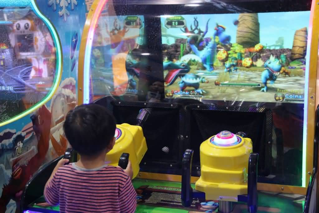 kid shooting game machine