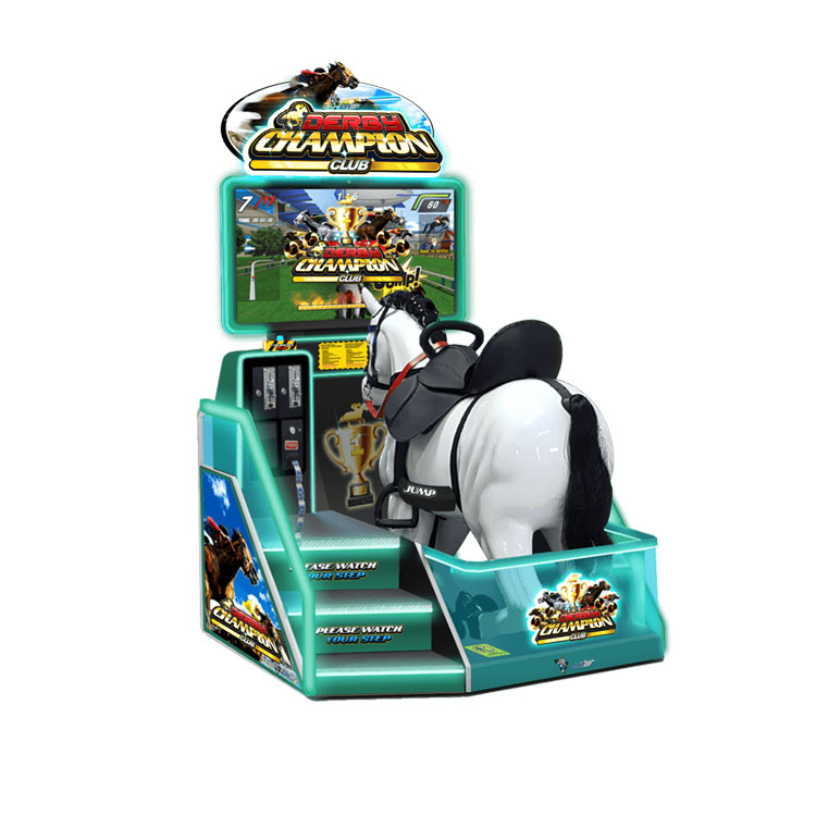 Royal Knights racing arcade machine