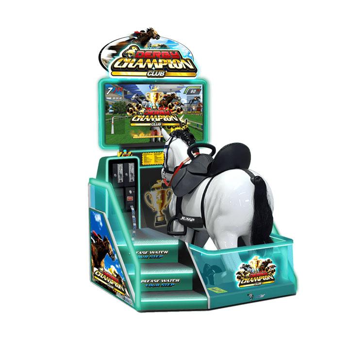 Royal Knights racing arcade machine