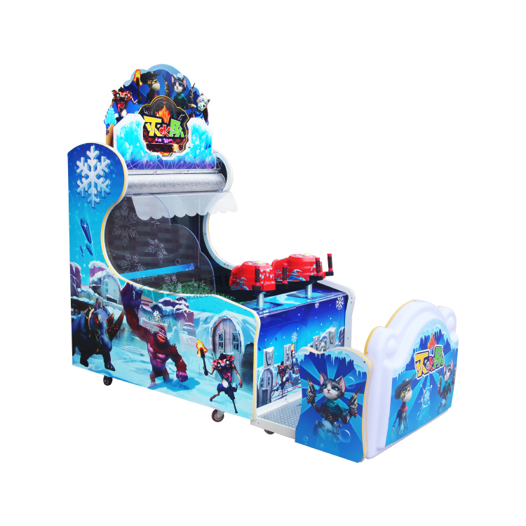 With the water man Shooting video arcade machine