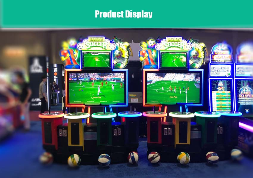 fifa soccer arcade machine display