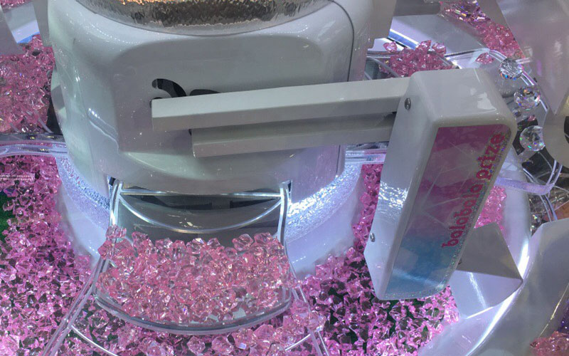 diamond claw machine claw