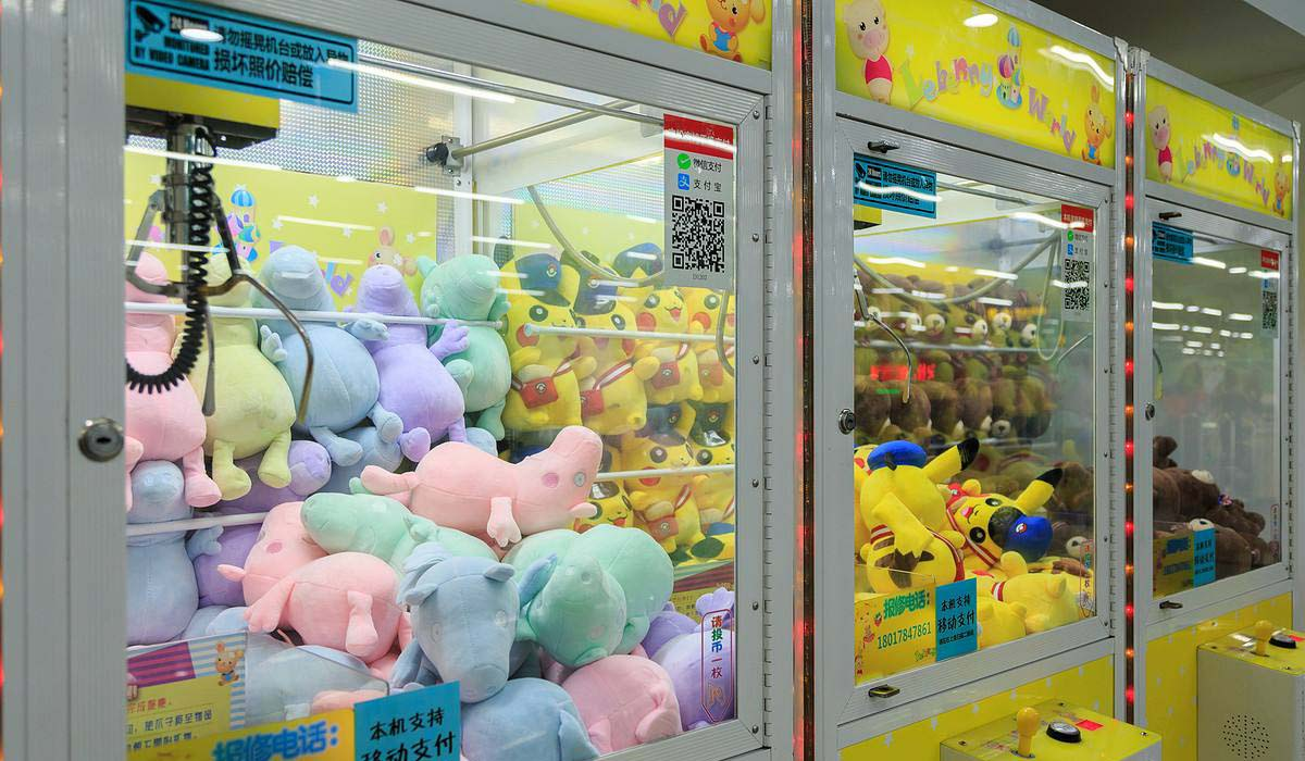 Claw machine game Sharing From Neo