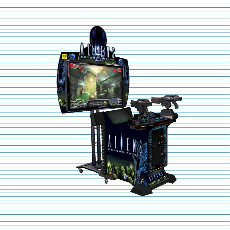 Alien War Shooting Arcade Machine
