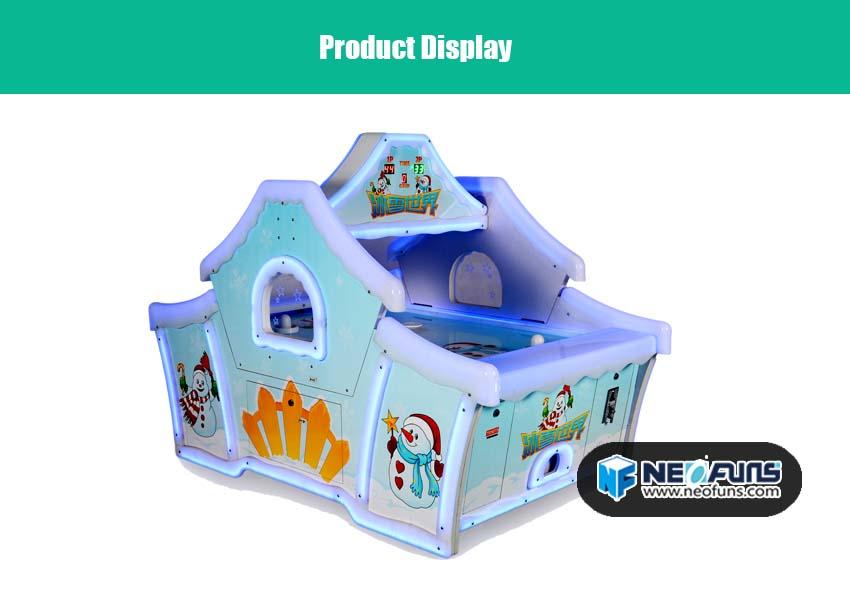 frozen air hockey arcade sports game for kids