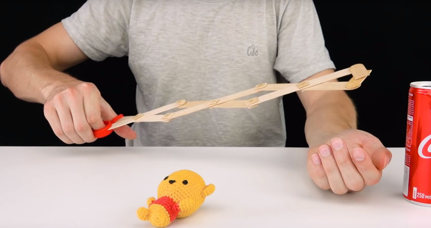 how to make a claw machine claw