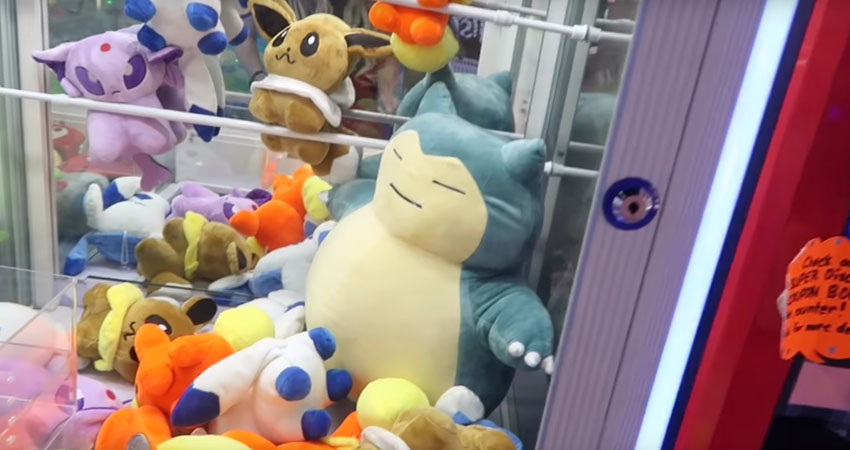 pokemon claw machine