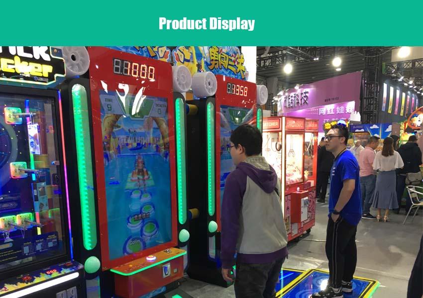 brave 3 level racing arcade machine