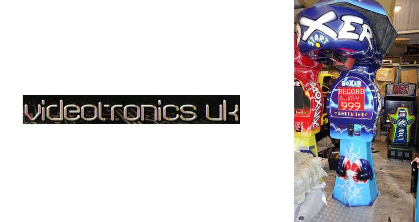 Videotronicsuk boxing arcade machine