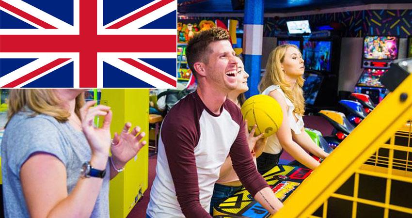 arcade center in uk