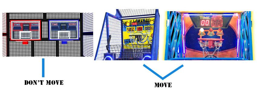 basketball arcade machine level