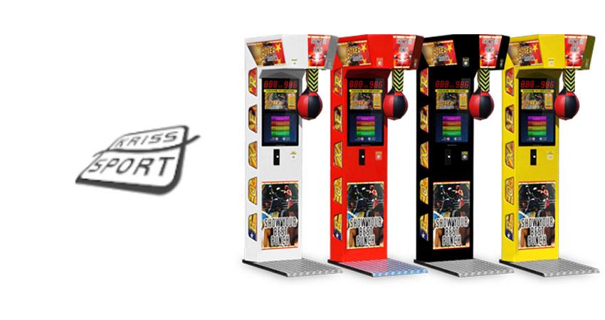 kriss sport boxing arcade machine