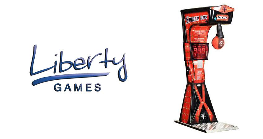 libertygames boxing arcade machine