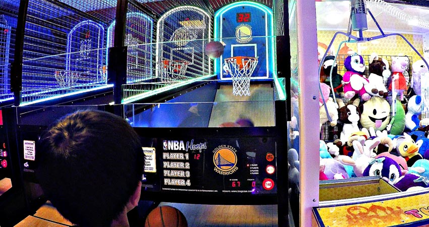 hack basketball arcade machine