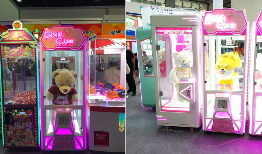 skill cut prize vending machine