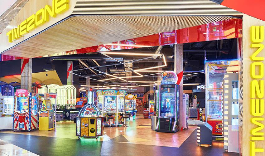 timezone amusement arcade