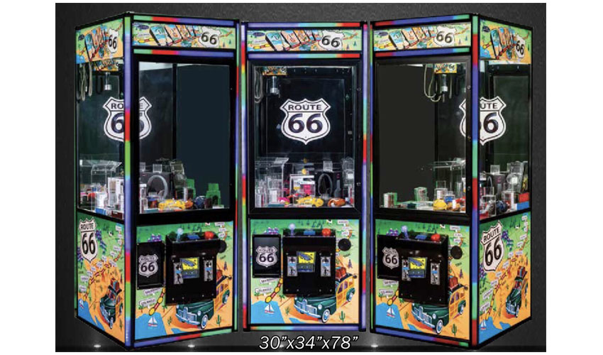 Route 66 Claw Machine