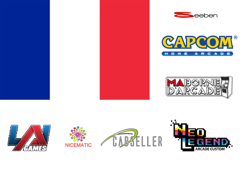 Top 7 Arcade Manufacturers in France