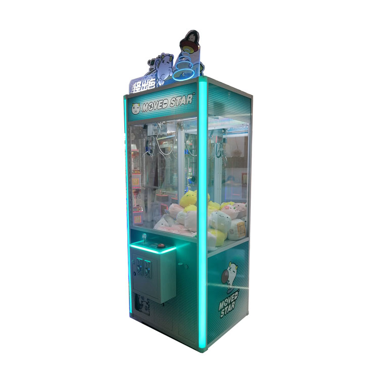 New Moved Star Claw Machine