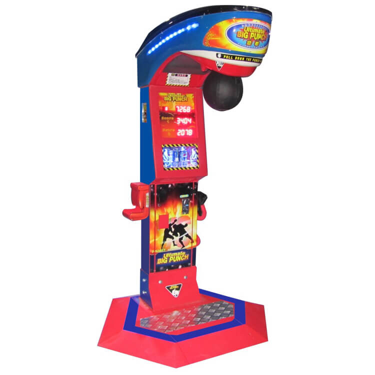 Ultimate Big Punch Prize Machine | Punching Game Machine Factory