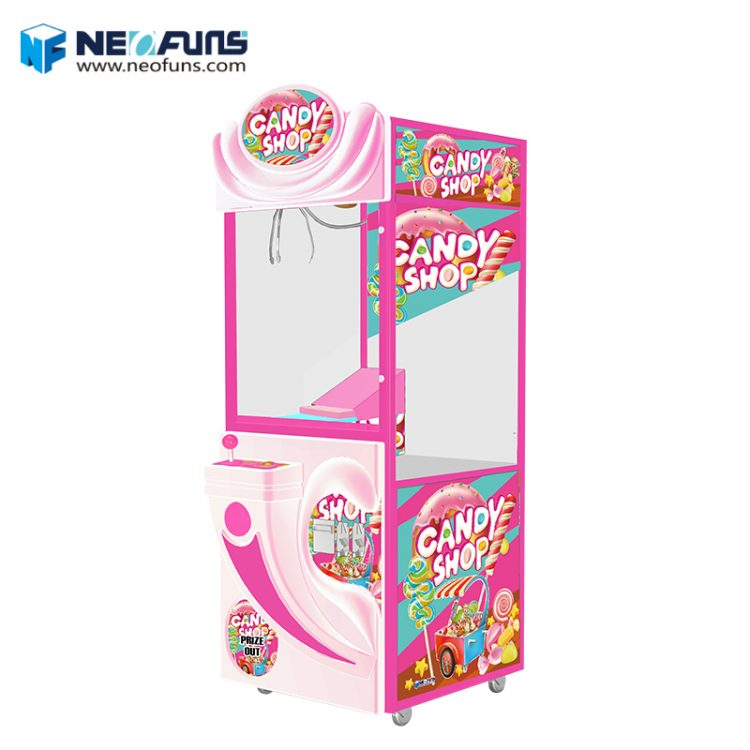 Chocolate Box Candy Crane Machine| Candy Claw Crane Machine