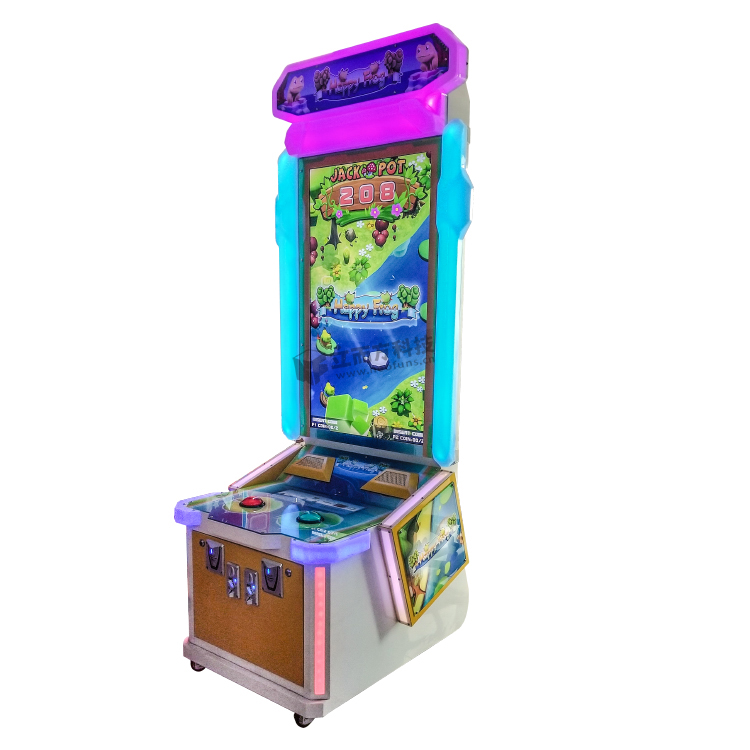 Happy Frog video arcade machine
