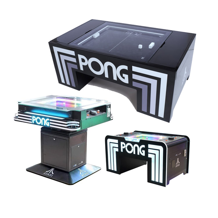 Atari PONG Coffee/ Arcade/ Cocktail table | Table tennis video arcade machine