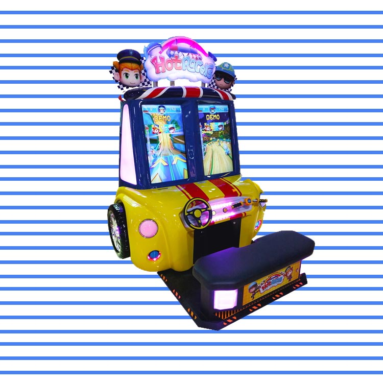 Small Police Racers Arcade Machine