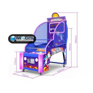 superpower basketball machine for kids