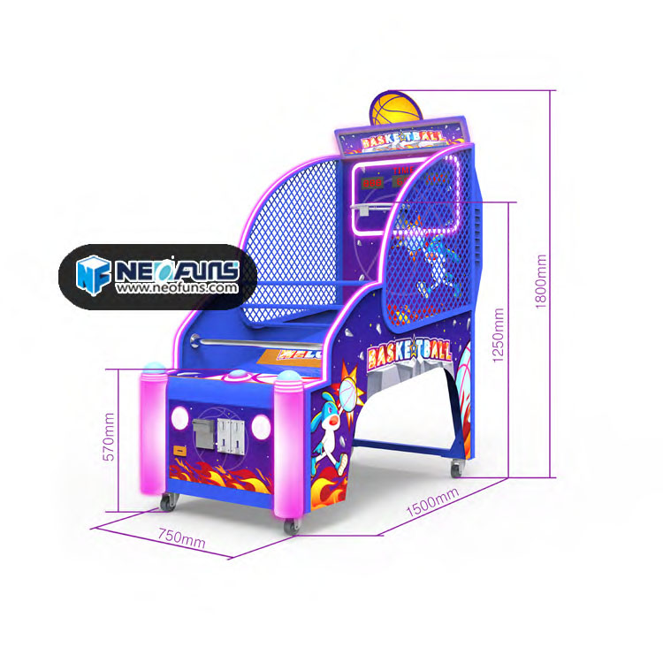 SuperPowers Basketball Arcade Game for Kids