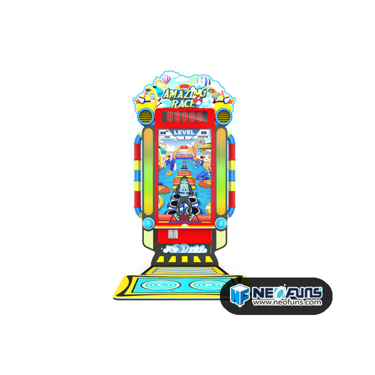 Brave 3 level sports arcade machine